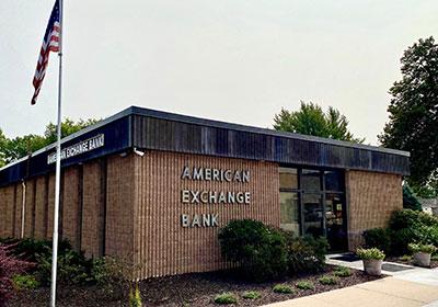 American Exchange Bank building